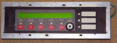 Simplex 4606-9101 Operator Interface LCD Annunicator Fire Safety Device Used