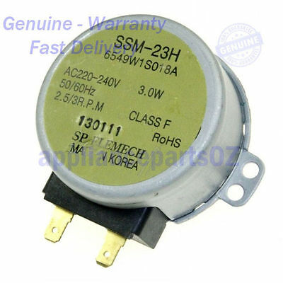 LG Microwave Turntable Motor GENUINE 6549W1S018A