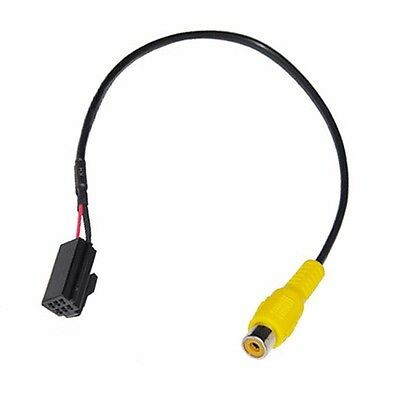 Car DVD Navigation Rear View Camera Video Cable Adapter for Caska 6 Pin Port
