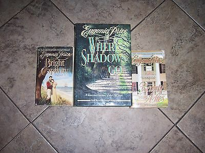 Lot of 3 books by Eugenia Price complete Georgia Trilogy ~ Bright Captivity
