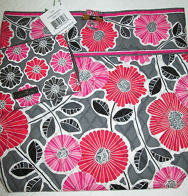 Vera Bradley Cheery Blossoms Tote + Faux Leather Accordian Wallet Bnwtags