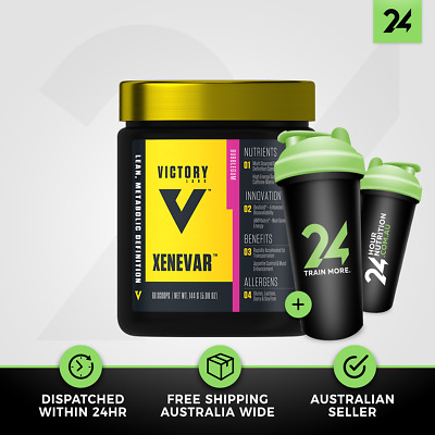 Victory Labs Xenevar | Thermogenic Fat Burner Weight Loss Energy | Free Gift!
