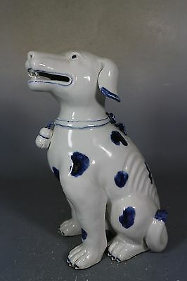 Beautiful Chinese blue&white porcelain dog