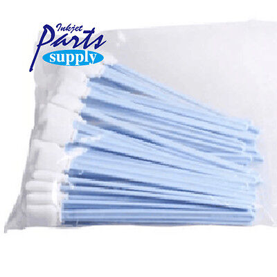 50pcs/pack Cleaning Swab Clean Stick for Solvent Jer Printer Wit-color/Myjet