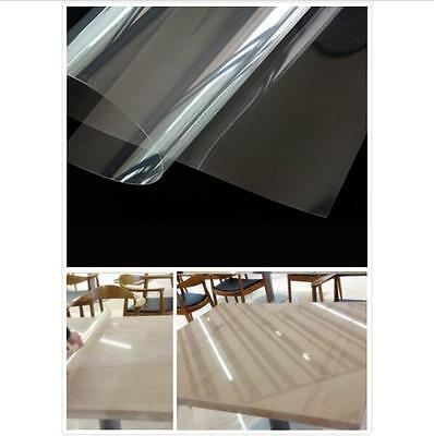 2MIL Clear Protective Vinyl Window Glass Wrap Shatterproof Security Film