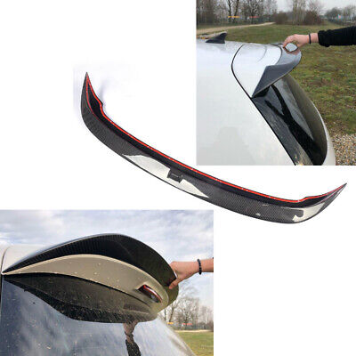 Carbon Fiber Rear Roof Spoiler Wing Lip Fit For Volkswagen Golf 6 MK6 VI R20 GTI