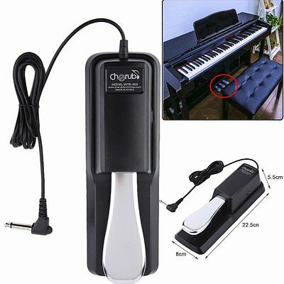 UNIVERSAL PIANO/KEYBOARD SUSTAINPEDAL FUßPEDAL E-PIANO & KEYBOARDS Dämpferpedal!