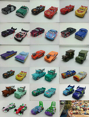 Mattel Disney Pixar Cars Mcqueen & Hudson Color Changers Toy Car 1:55 Loose New