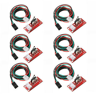 6pcs Endstop Limit Mechanical End Stop Switch W/ Cable for CNC 3D Printer R V7Q1