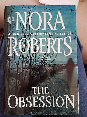 The Obsession by Nora Roberts (2016, Hardcover)