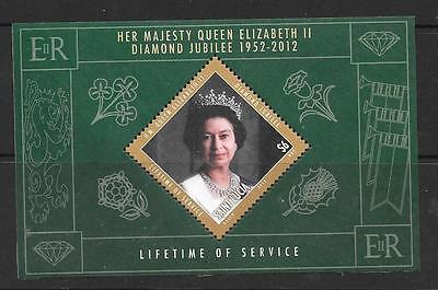 St.lucia Sgms1416 2012 Diamond Jubilee Mnh