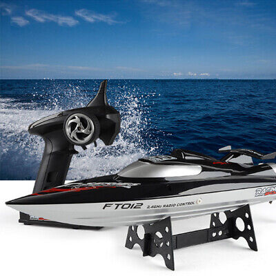 RC Brushless Mini Racing Boat 2.4GHz Digital Remote Controller Toys Play Gift