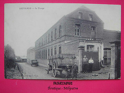 59. LOUVIGNIES - Le Tissage