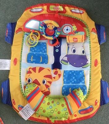 Brightstarts Baby Car Tummy Time Play Gym Mat