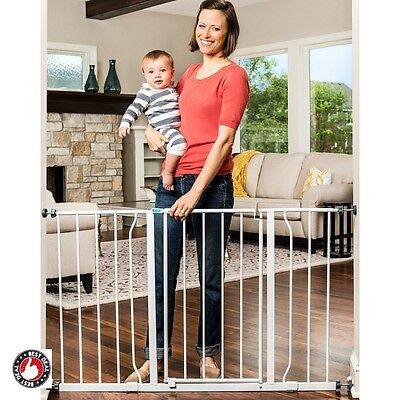 Baby Gates With Swing Door For Stairs Toddler Child Security Safety Products Pet