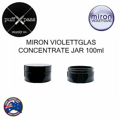 Miron Violettgals - Violet Glass Concentrate Jar 100Ml - Anti Ageing Herb Jar