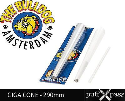 THE BULLDOG AMSTERDAM - PRE ROLLED SMOKING CONE - GIGA 290mm - PARTY SIZE CONE