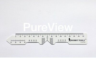 2 PD Rulers, Top quality Pupil distance rulers, 2ct, Optician Choice