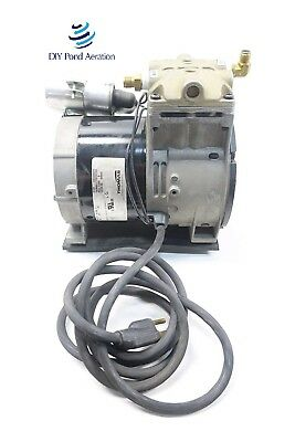 NEW THOMAS 688CE44 Piston Air Compressor/Vacuum Pump, Aerator, 1/3hp OEM NEW!!