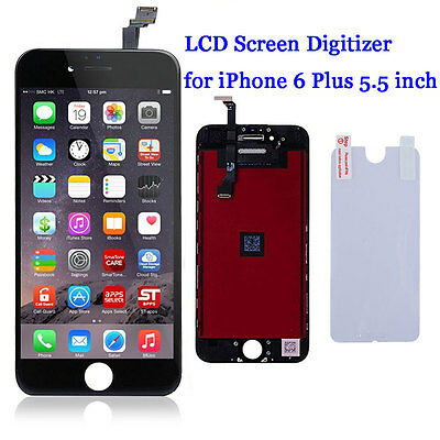 For iPhone 6 Plus LCD Display Touch Screen Digitizer Glass Assembly Replacement