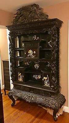 Antique Shodhano Cabinet From Meiji Period. One Of A Kind!
