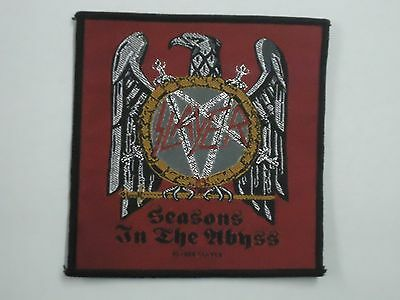 Slayer Seasons In The Abyss Woven Patch