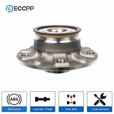New REAR Left&Right Wheel Hub and Bearing Assembly Fits Audi A3 Volkswagen W/ABS