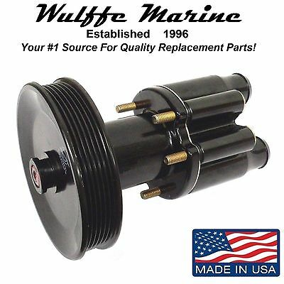 Mercruiser Bravo Sea Raw Water Pump with Pulley for V6 & V8 Rplcs 46-807151A9