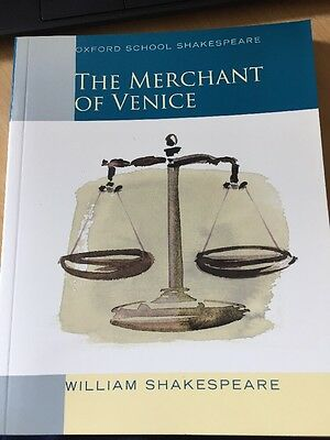The Merchant Of Venice by William Shakespeare (Paperback, 2001) Oxford Press NEW