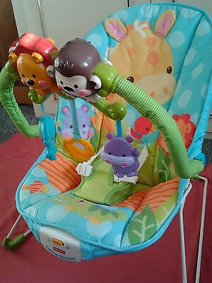 Fisher Price Bouncer with music and vibrating seat