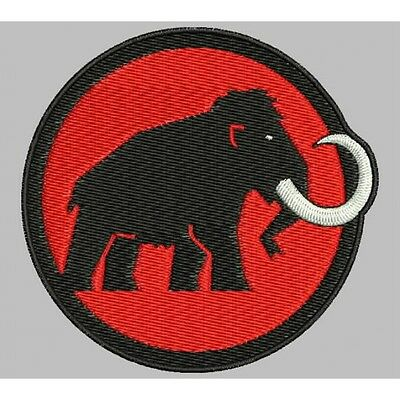 Iron Patch Embroidered patch bestickt Patch zona ricamata parche bordado MAMMUT