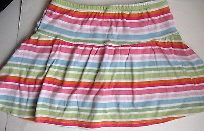 Gymboree Gils size 7 skirt skort striped EUC
