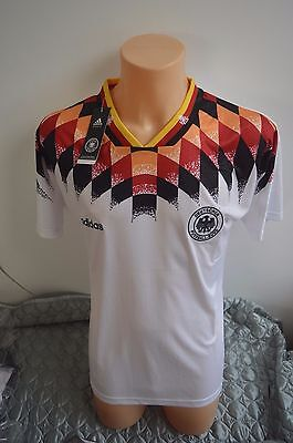 Adidas 1994-96 Germany Home Football Shirt - With Tags *Size M*