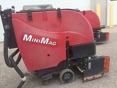 Factory Cat Minimag 24c cylindrical floor scrubber
