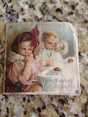 They Wanted Jello Vintage Recipe Booklet circa 1919