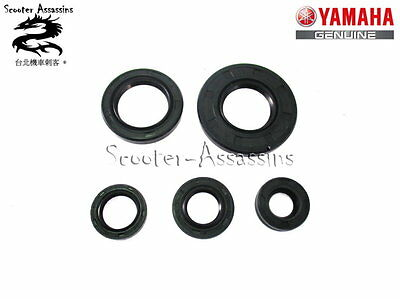 ENGINE OIL SEAL SET for YAMAHA YBR 125, XTZ 125 GENUINE SPARE PART. UK STOCK