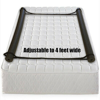 Child's Foam Bed Rail Kit Toddlers Double Sided Bolster  Easy Install