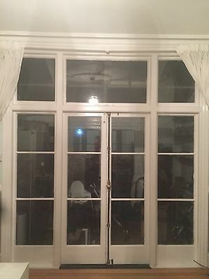 Large Late Victorian French Door Set