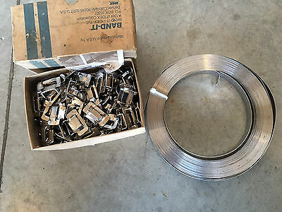 BAND - IT 3/4 Inch Stainless Steel Buckles And Finish Band