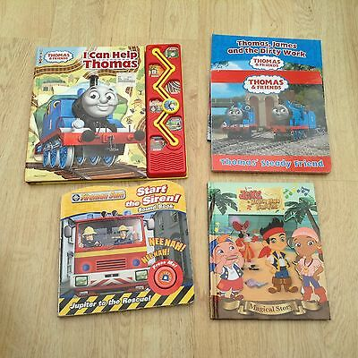 Bundle Of Baby / Toddler Board Books. Thomas And Fireman Sam. ETC.