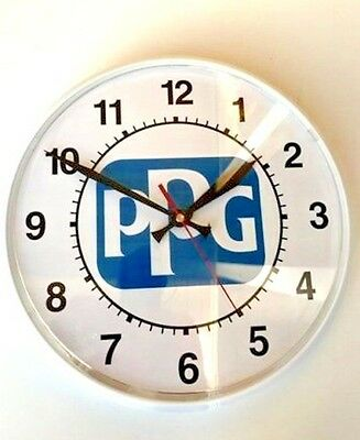 """PPG Refinish DOX 385 Battery Operated 12"""" Wall Clock"""