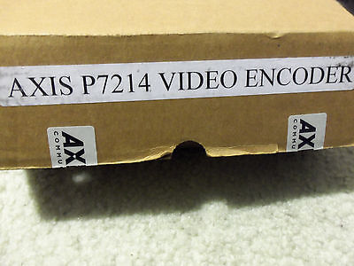 Axis P7214 4-channel encoder server for security surveillance IP network camera