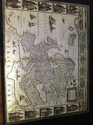 Vintage Melinex Map Of Europe Printed By ICI Of Holland