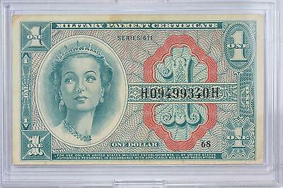 United States Military Payment Certificate Series 611 One Dollar $1