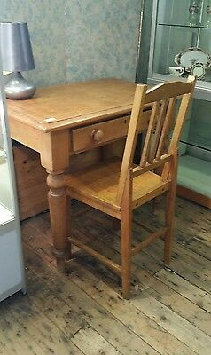 small antique desk in Kauri Pine withdraw