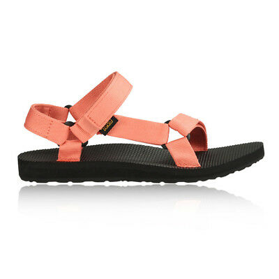 Teva Original Universal Womens Orange Walking Trekking Sandals Summer Shoes
