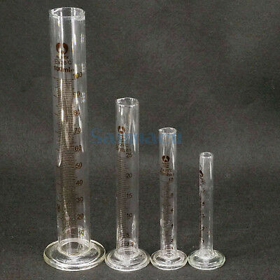 5/10/20/25/50/100/250/500/1000/2000ml Lab Glass Graduated Measuring Cylinder