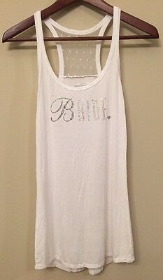 "Victoria's Secret, I DO Collection. ""Bride"" Bling Tank. M. New!"