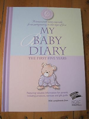 My Baby Diary Record Book - The First Five Years Hardback By Christina Forbes
