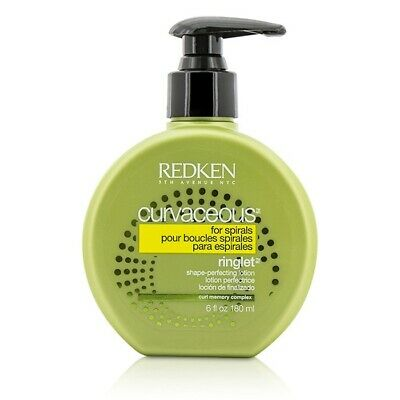NEW Redken Curvaceous Ringlet Shape-Perfecting Lotion (For Spirals) 180ml Mens